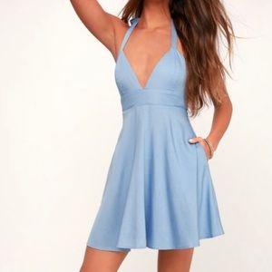 Blue LuLu's dress